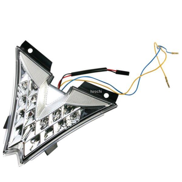 【USA在庫あり】 Moto MPH LEDテールライト クリア 10年-12年 Aprilia RSV 1000R 2010-0938 HD店