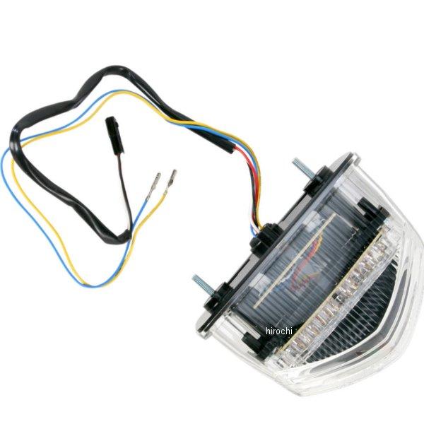 【USA在庫あり】 Moto MPH LEDテールライト ステルス 07年-12年 CBR600RR 2010-0949 HD店