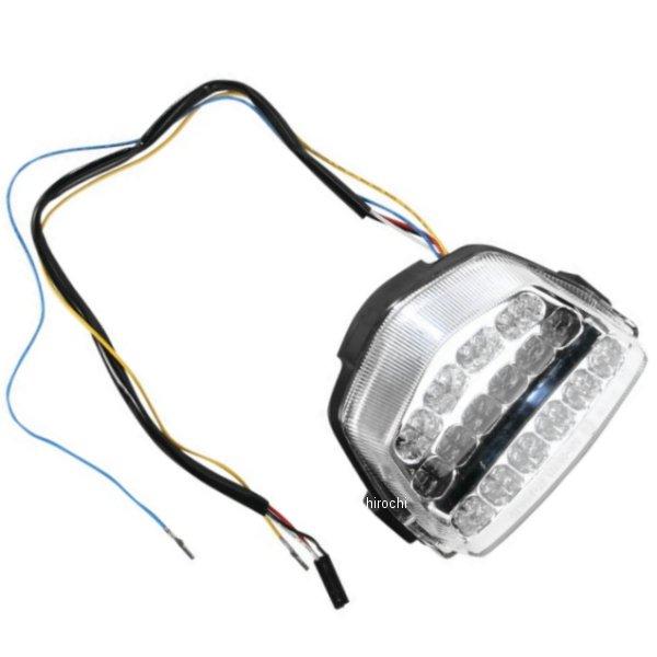 【USA在庫あり】 Moto MPH LEDテールライト クリア 08年-12年 CBR1000RR 2010-0950 HD店