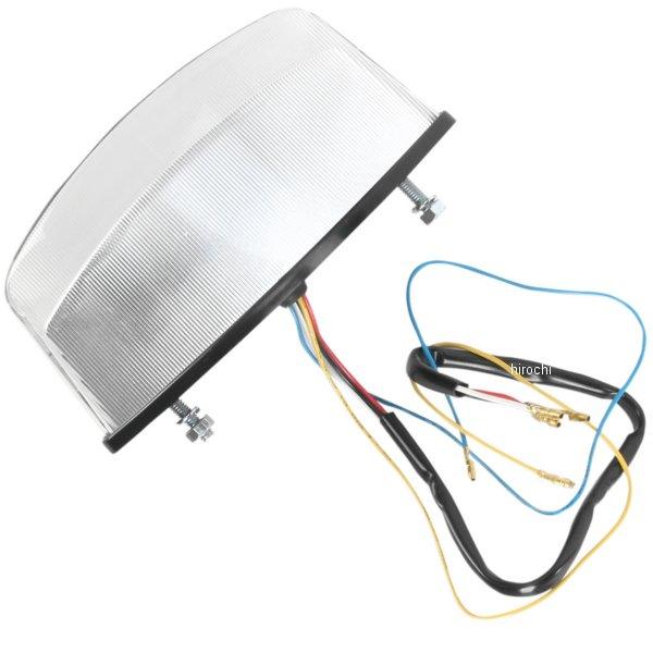 【USA在庫あり】 Moto MPH LEDテールライト クリア 94年-07年 ドゥカティ モンスター 2010-0956 HD店
