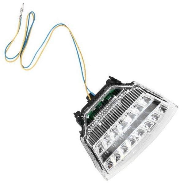 【USA在庫あり】 Moto MPH LEDテールライト クリア 12年 ニンジャ ZX-10R 2010-0980 HD店