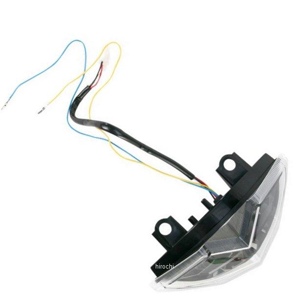 【USA在庫あり】 Moto MPH LEDテールライト ステルス 10年-12年 Z1000 2010-0985 HD店
