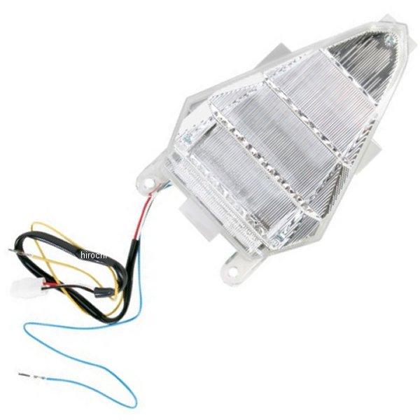 【USA在庫あり】 Moto MPH LEDテールライト クリア 08年-12年 YZF-R6 2010-1004 HD店