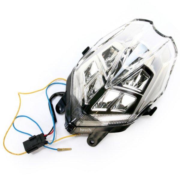 【USA在庫あり】 Moto MPH LEDテールライト クリア 13年 トライアンフ デイトナ 2010-1119 HD店