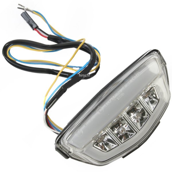 【USA在庫あり】 Moto MPH LEDテールライト クリア 08年-13年 CBR1000RR 2010-1121 HD店