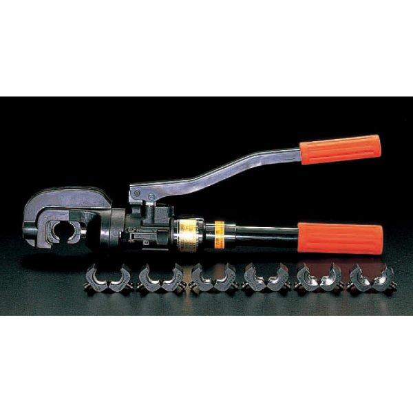 【メーカー在庫あり】 エスコ ESCO T20-T122 油圧圧着工具(T型コネクター用) 000012014113 HD