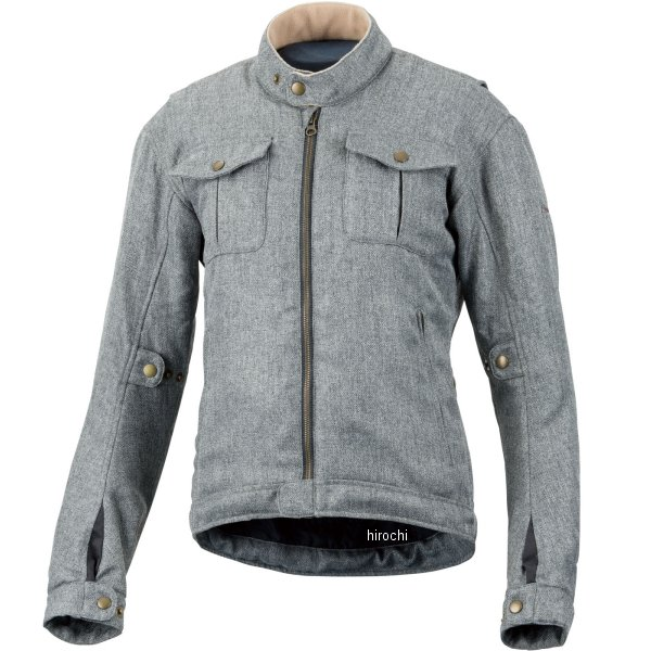 ホンダ純正 HONDA CLASSICS シングルライダースジャケット レディース グレー WSサイズ 0SYTH-W33-N HD店