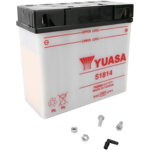 【USA在庫あり】 ユアサ YUASA YuMiCRON バッテリー 開放型 12V 51814 HD店