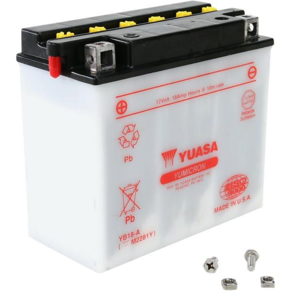 【USA在庫あり】 ユアサ YUASA バッテリー 開放型 YB18-A HD店