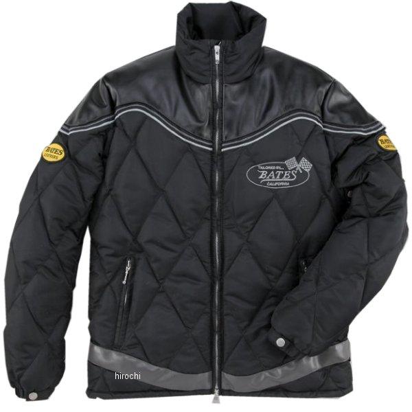 ベイツ BATES ナイロン&シンセティックレザージャケット 黒 Lサイズ BJ-F1658 HD店
