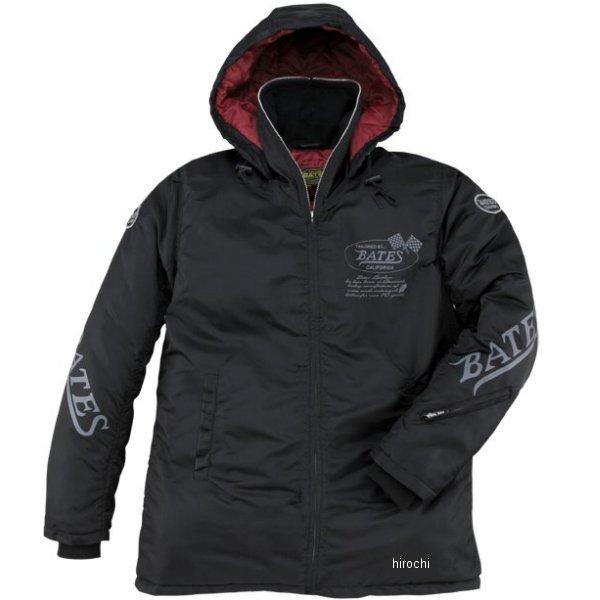 ベイツ BATES ナイロンジャケット 黒 Lサイズ BJ-N1661ST HD店