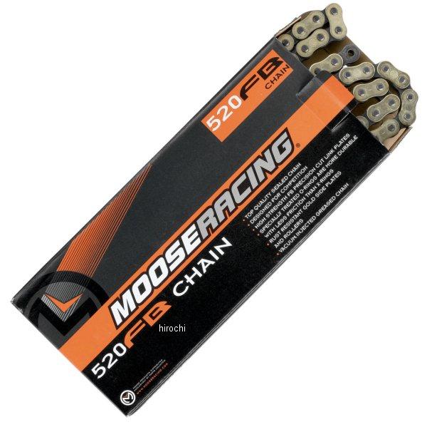 【USA在庫あり】 ムースレーシング MOOSE RACING チェーン O-リング カシメタイプ 520FB/114L 1222-0101 HD店