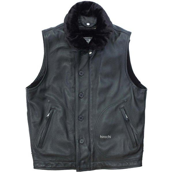 カドヤ KADOYA ベスト DECK CREW 黒 Lサイズ 0158 HD店