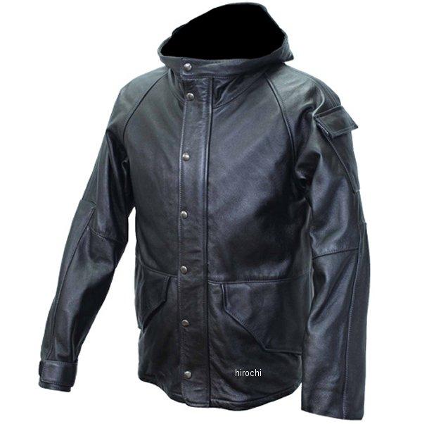 カドヤ KADOYA レザーパーカー CWP-LEATHER 黒 3Lサイズ 1175 HD店