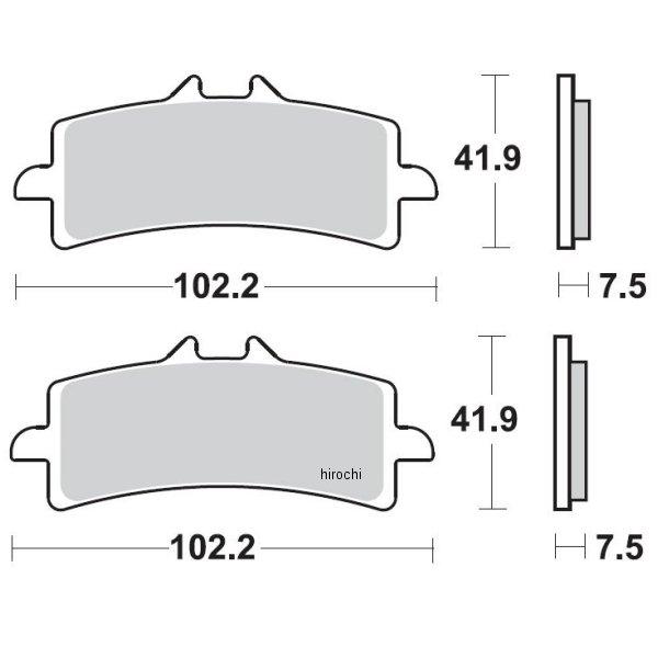 【USA在庫あり】 ブレーキング BRAKING ブレーキパッド フロント 07年-13年 ドゥカティ 1198、1199 (CM66 セミメタル) 1721-0770 HD店