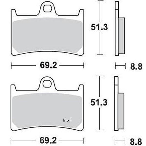 【USA在庫あり】 ブレーキング BRAKING ブレーキパッド フロント 97年-13年 Z1000、XV1900、FZ1 (CM66 セミメタル) 786CM66 HD店