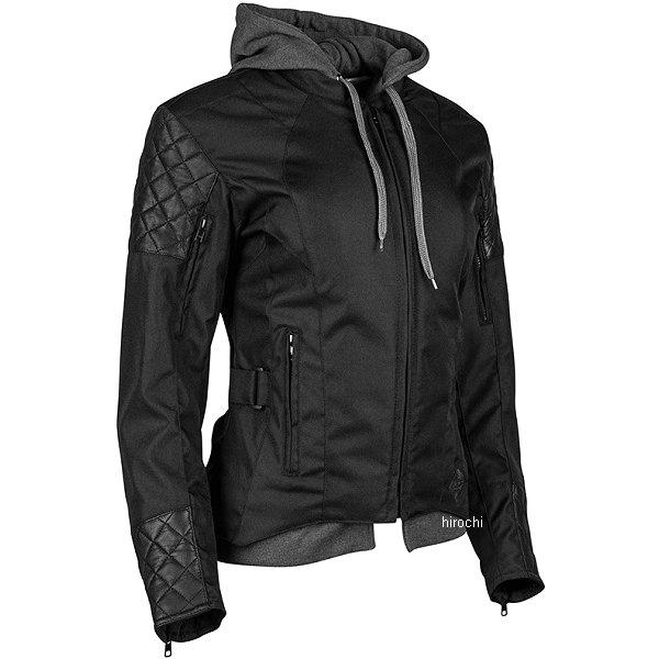 【USA在庫あり】 スピードアンドストレングス DOUBLE TAKE テキスタイル ジャケット 女性用 黒 WXSサイズ 884301 HD店