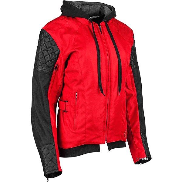 【USA在庫あり】 スピードアンドストレングス Speed and Strength DOUBLE TAKE テキスタイル ジャケット 女性用 赤/黒 WMサイズ 884319 HD