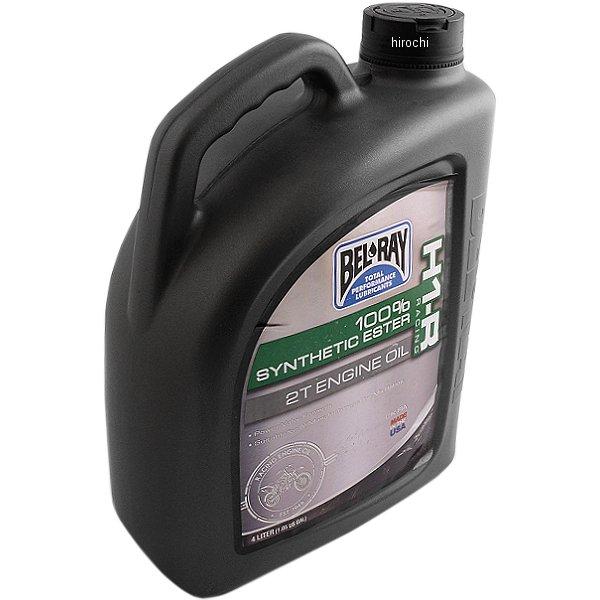 【USA在庫あり】 ベルレイ BEL-RAY 100%化学合成 2スト H1-R レーシング エンジンオイル 4リットル 3602-0056 HD店