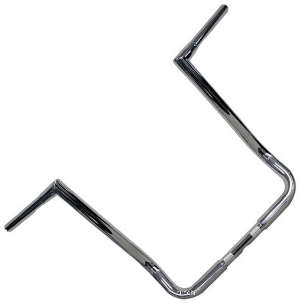 【USA在庫あり】 トッドサイクル Todd's Cycle 1.25インチ ハンドルバー Batwing 17インチ 96年以降 FLH クローム 0601-3372 HD店