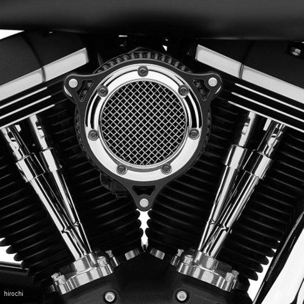 【USA在庫あり】 コブラ COBRA エアクリーナー RPT 08年-16年 FLH クロームリンク/黒 1010-1957 HD店