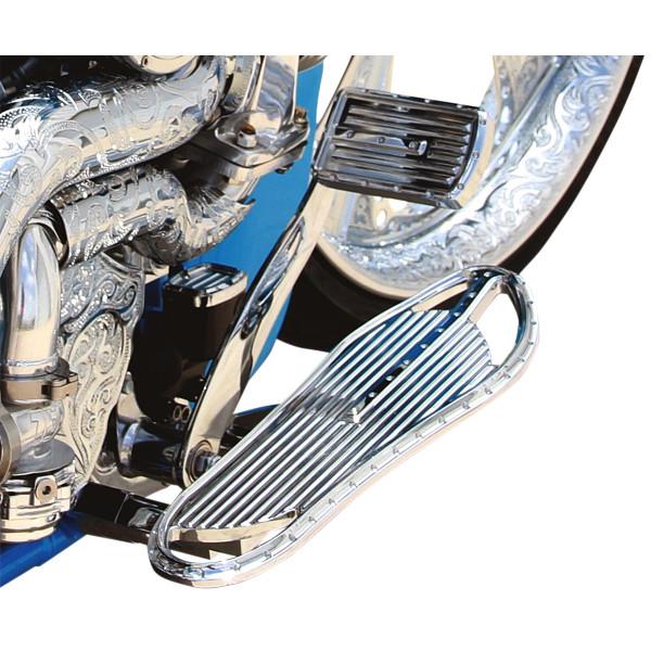 【USA在庫あり】 コビントン Covingtons ドライバーフットボード ディンプル クローム 1621-0669 HD店