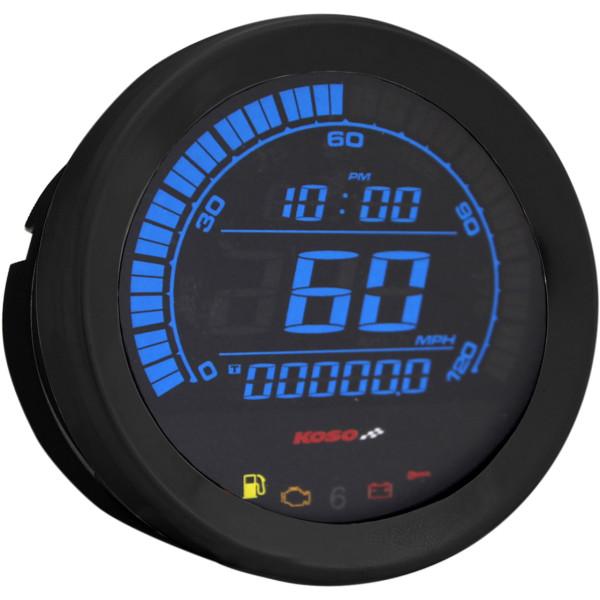 【USA在庫あり】 コソ KOSO スピードメーター 4インチ(102mm) 04年-13年 黒 2210-0405 HD