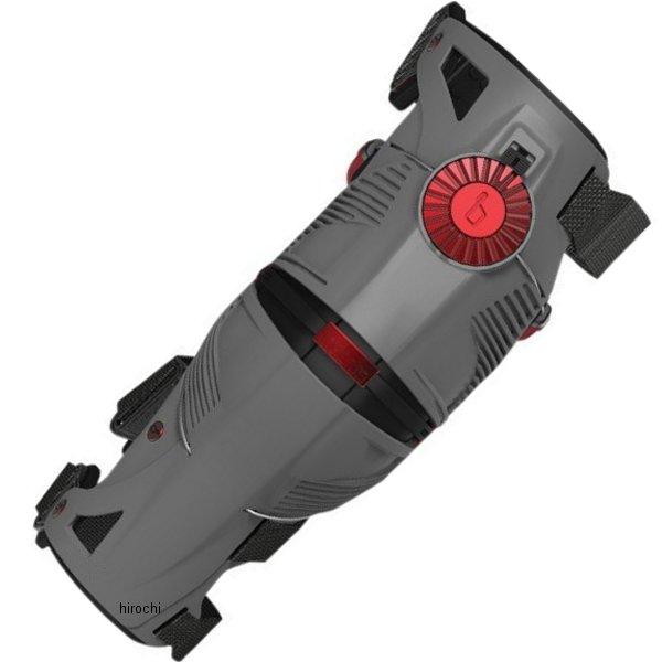 【USA在庫あり】 メビウス mobius プロテクター X8 膝 灰/赤 Lサイズ 2704-0352 HD店