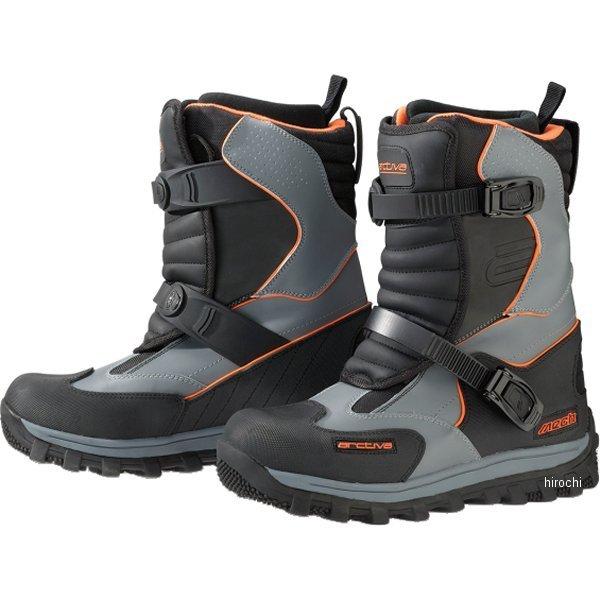 【USA在庫あり】 アクティバ Arctiva ブーツ MECH 黒/灰 6インチ(24cm) 3420-0538 HD店