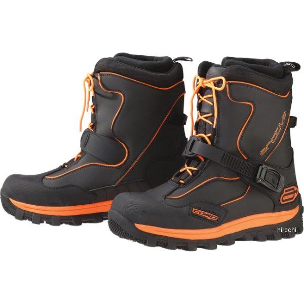 【USA在庫あり】 アクティバ Arctiva ブーツ COMP 黒/オレンジ 8インチ(26cm) 3420-0556 HD店