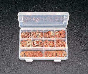 【メーカー在庫あり】 エスコ ESCO 銅パッキンセット 10サイズ 000012024319 HD店