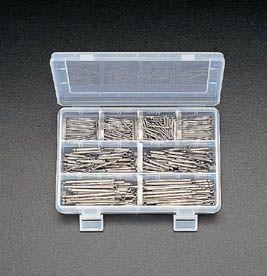 【メーカー在庫あり】 エスコ ESCO 1.6-4.5mm 割ピンセット ステンレス製 000012041928 HD店