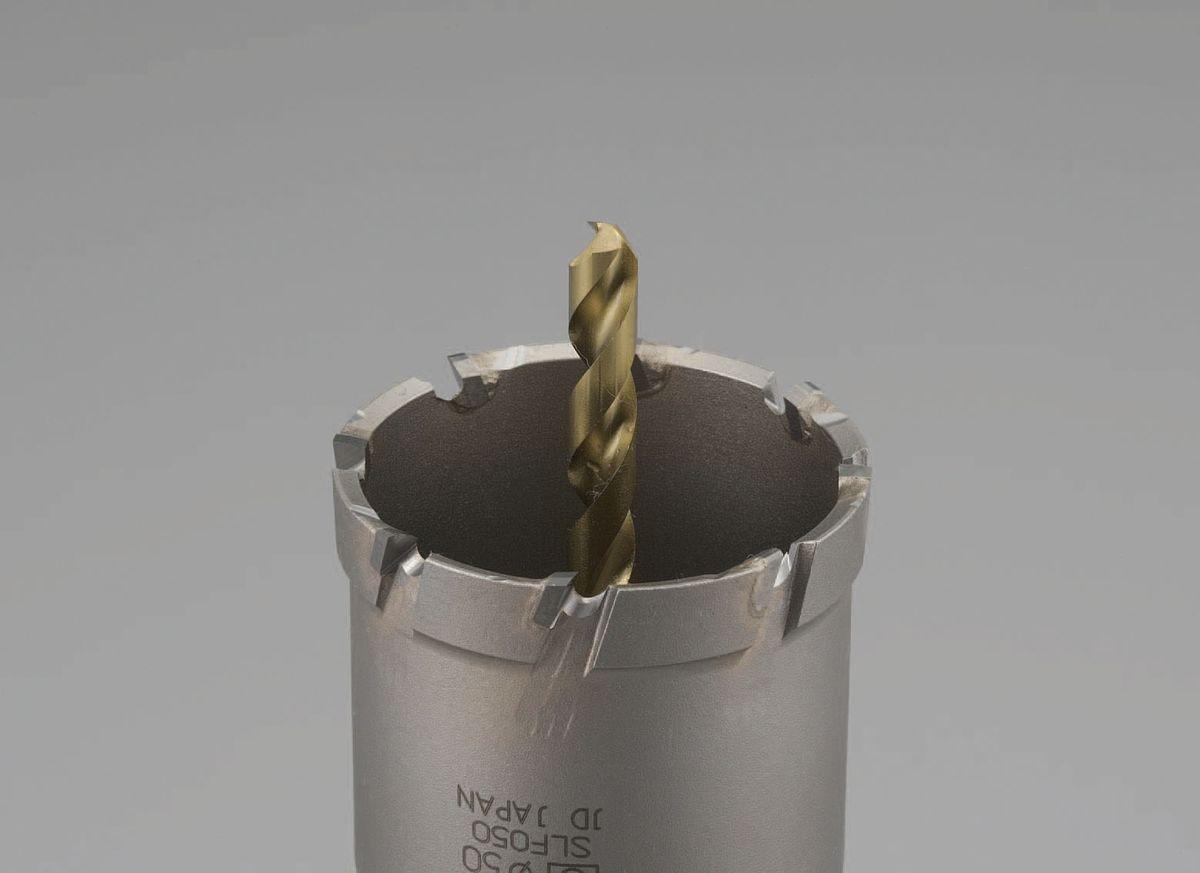 【メーカー在庫あり】 エスコ ESCO 40mm 超硬付深穴ホールソー 000012213343 HD店
