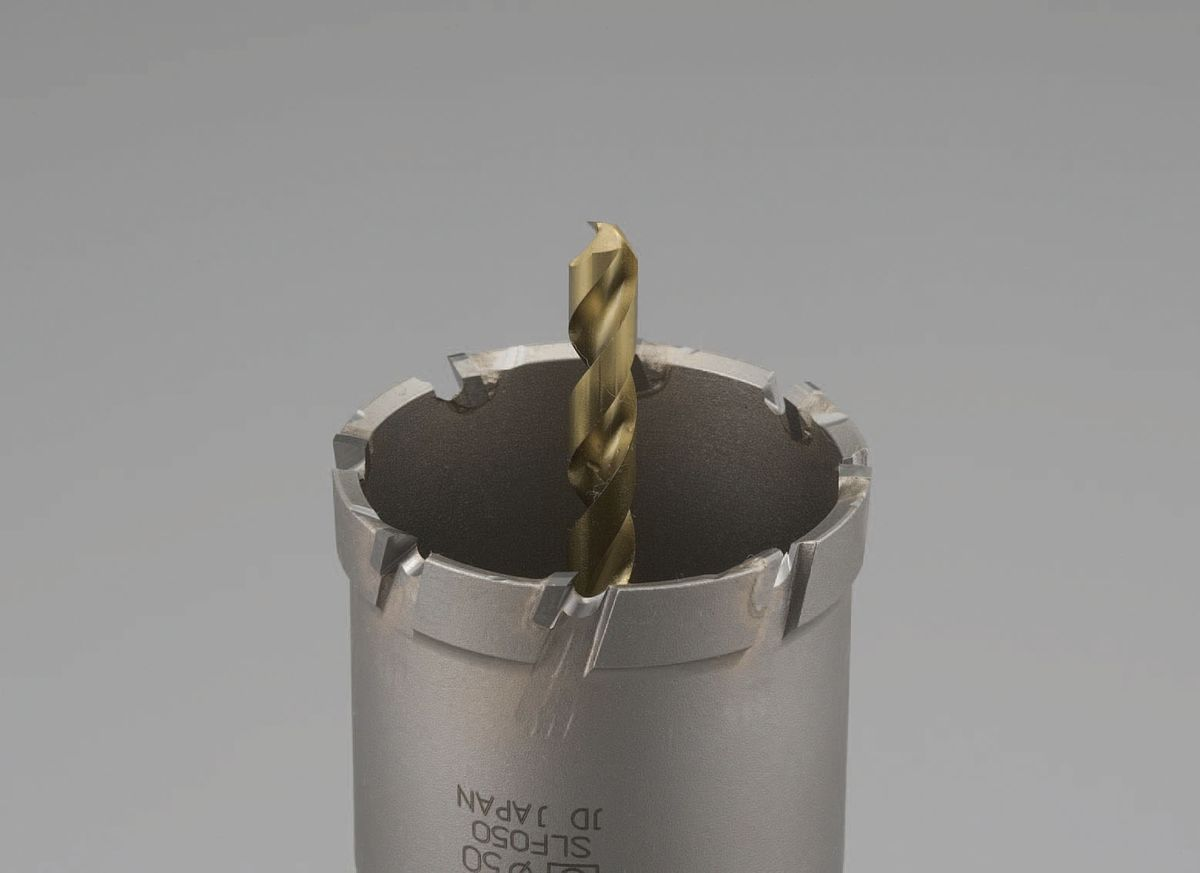 【メーカー在庫あり】 エスコ ESCO 65mm 超硬付深穴ホールソー 000012213353 HD店