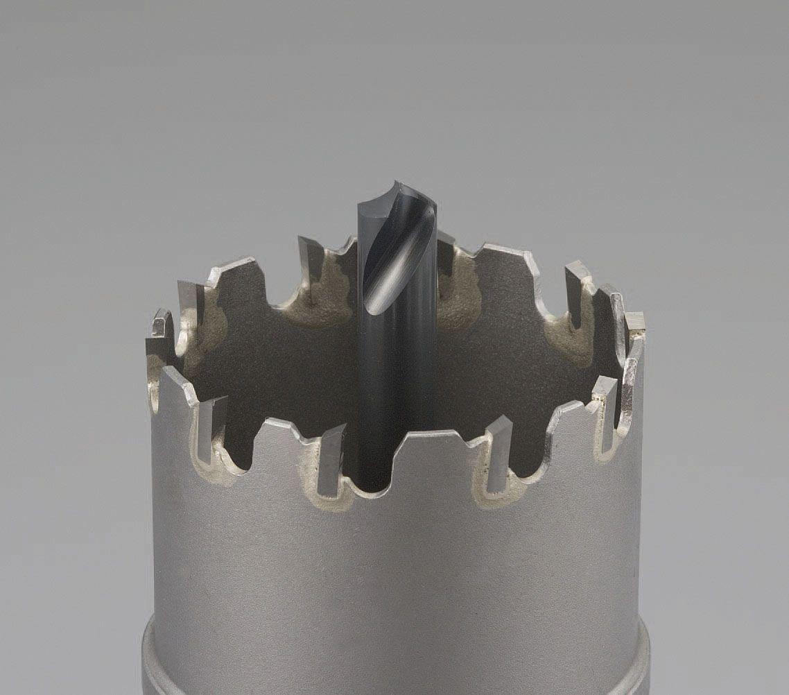 【メーカー在庫あり】 エスコ ESCO 60mm超硬付パイプ用ホールソー 000012213431 HD店