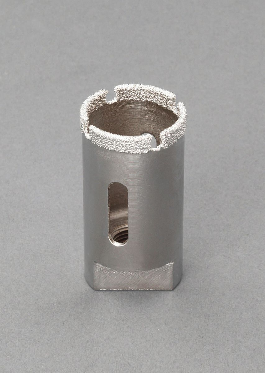 【メーカー在庫あり】 エスコ ESCO 27mm ダイヤモンドホールソー 替刃のみ 000012241135 HD店