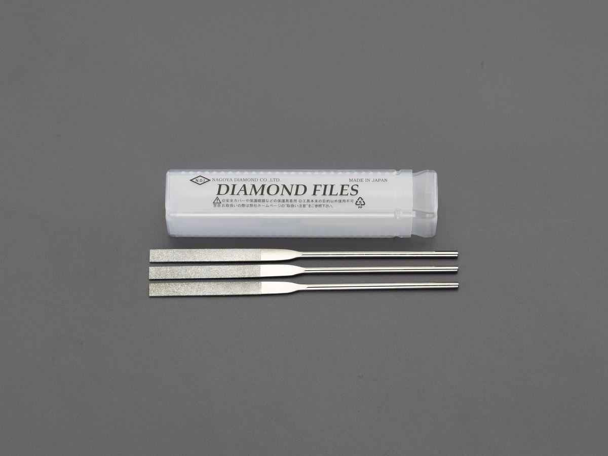 【メーカー在庫あり】 エスコ ESCO 140mm ダイヤモンド鑢 精密・平/3粒度・3本組 000012256516 HD店