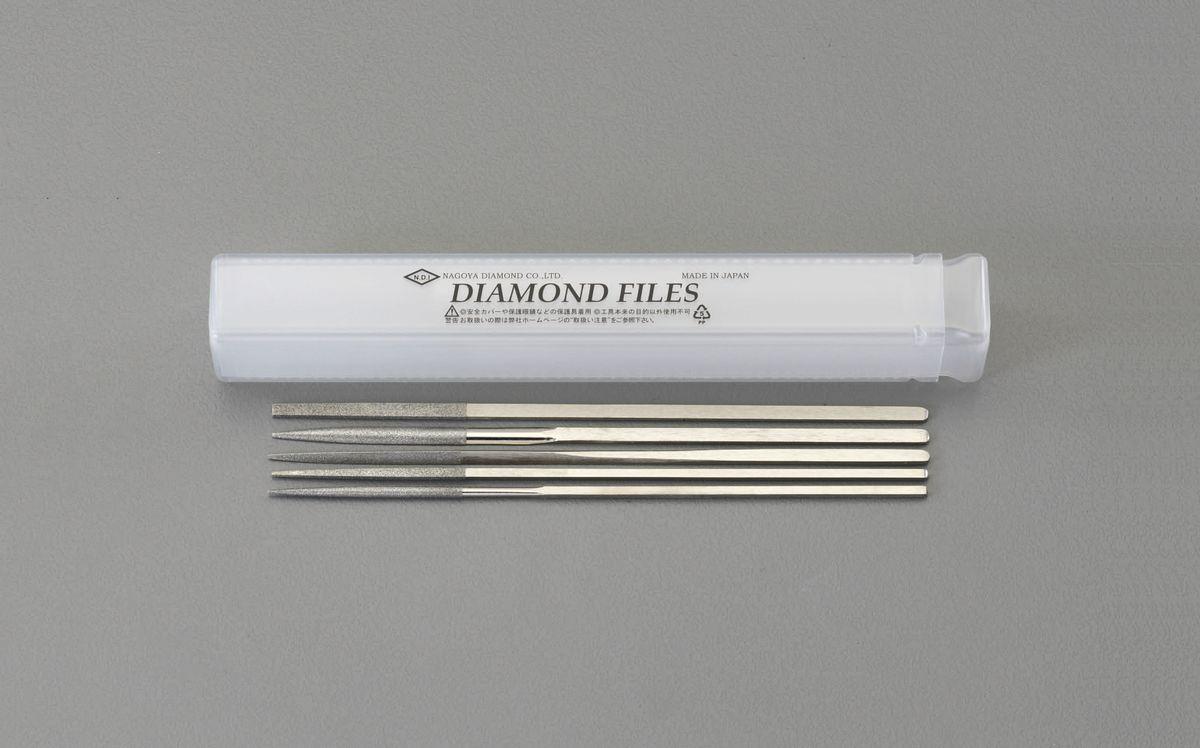 【メーカー在庫あり】 エスコ ESCO 170mm/#150 ダイヤモンドやすり 5種・5本組 000012214366 HD店