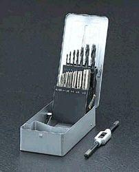【メーカー在庫あり】 エスコ ESCO M 3-M12mm タップドリルセット ISO 000012018495 HD店