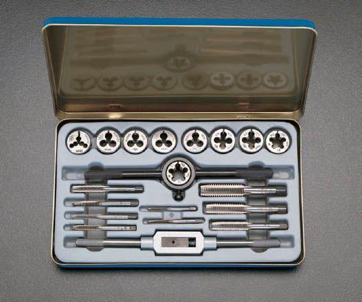 エスコ ESCO M3-M10 タップダイスセット 000012022682 HD店