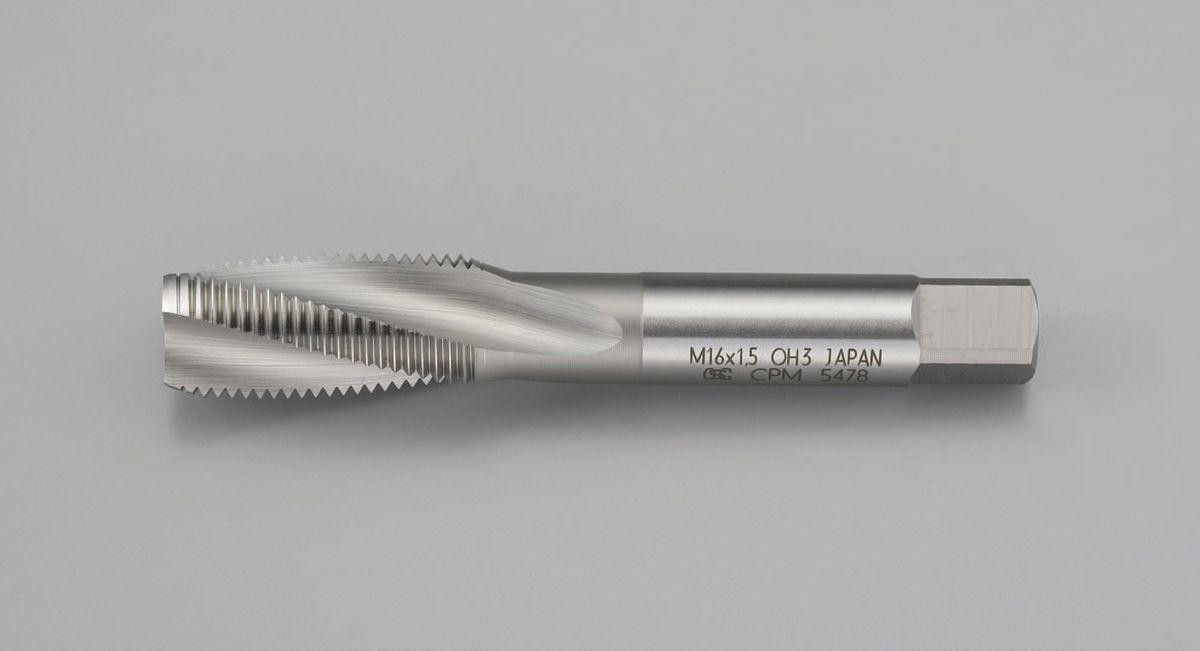 【メーカー在庫あり】 エスコ ESCO M16x1.5 スパイラルタップ 難削材用・粉末ハイス 000012215370 HD店