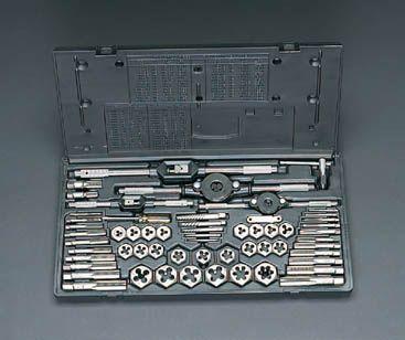 エスコ ESCO M 3-M18 タップダイスセット 000012036893 HD店