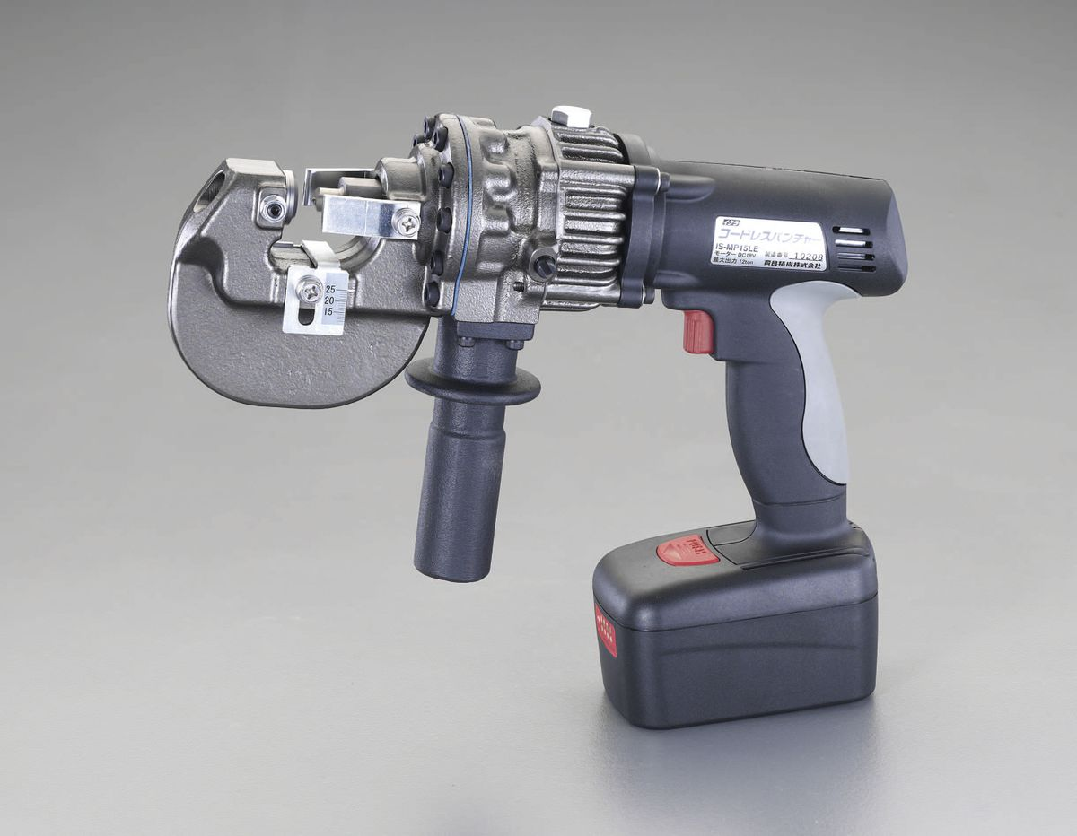 【メーカー在庫あり】 エスコ ESCO DC18V 油圧パンチャー 充電式 000012234116 HD店