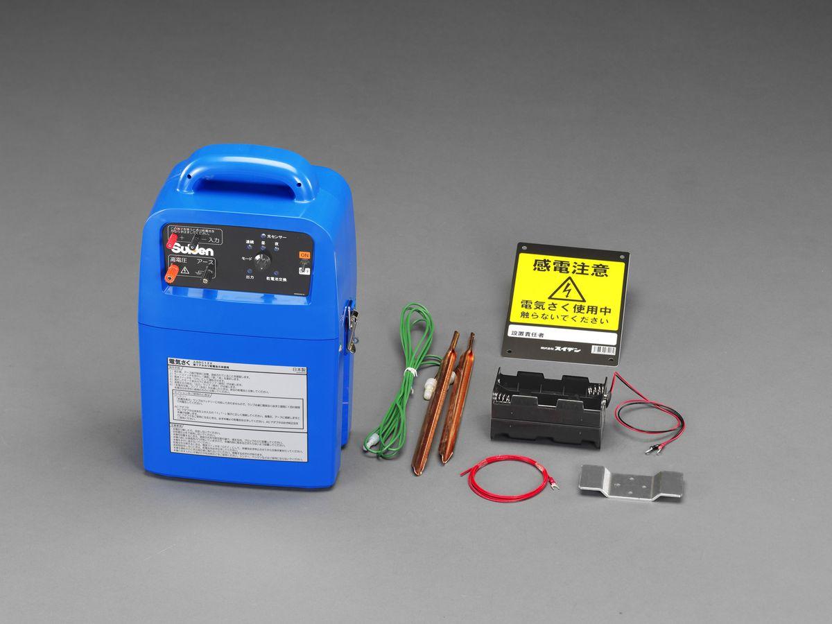 【メーカー在庫あり】 エスコ ESCO DC12V/単1x8本 電気ショック発生機 乾電池式 000012249263 HD店