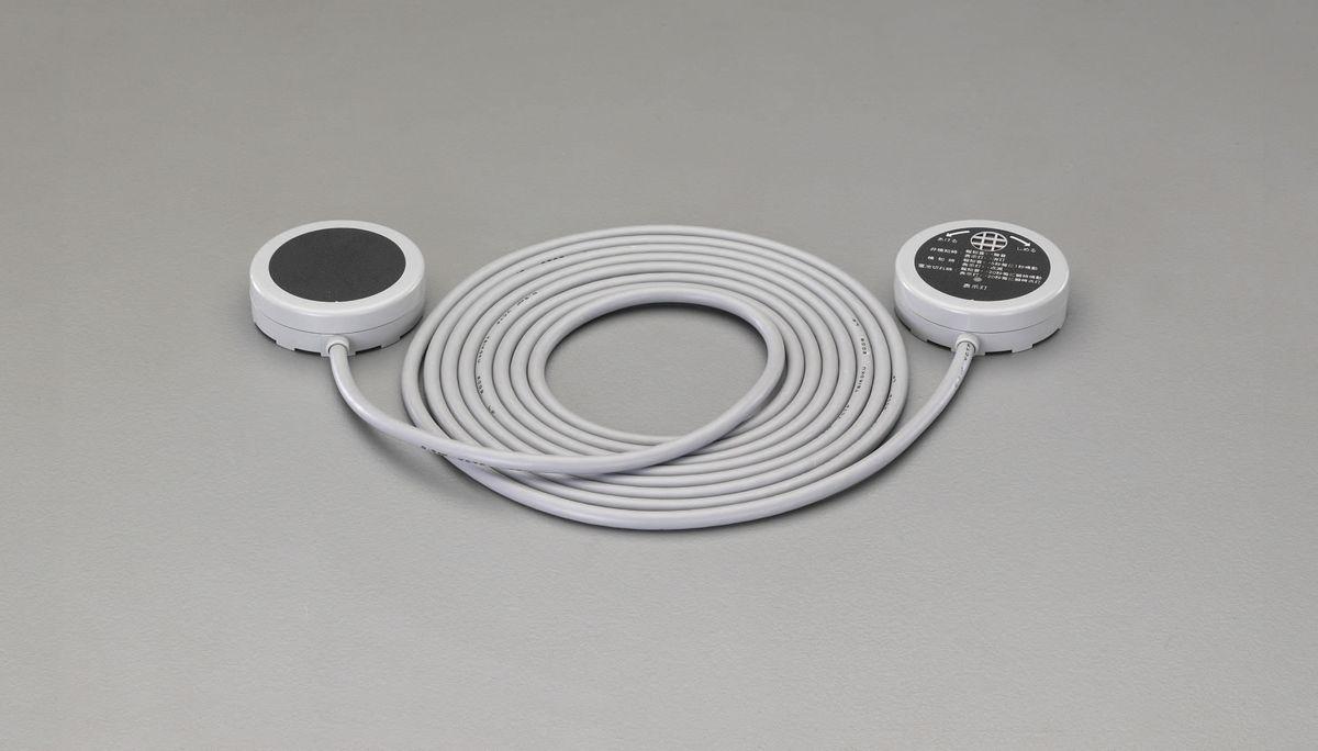 【メーカー在庫あり】 エスコ ESCO CR2032x2個 水漏れ報知器 ポイントセンサー付 000012241410 HD店