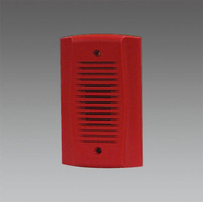 エスコ ESCO DC12/24V 小型電子サイレン レッド 000012241426 HD店