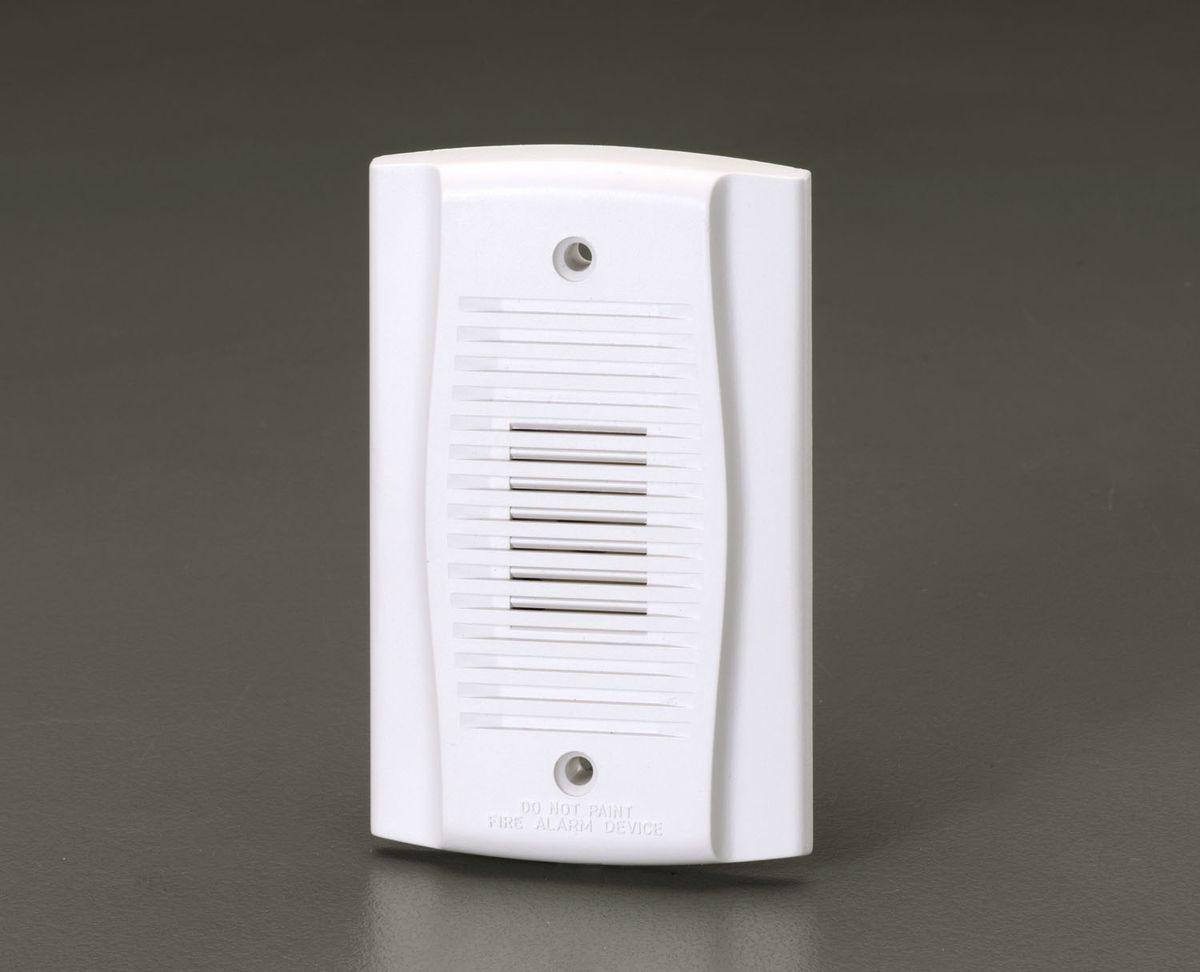 【メーカー在庫あり】 エスコ ESCO DC12/24V 小型電子サイレン ホワイト 000012241427 HD店