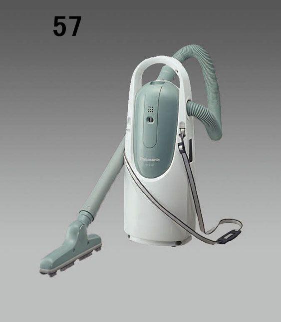 エスコ ESCO AC100V/500W 掃除機 肩懸け型/紙パック/グリーン 000012215736 HD店