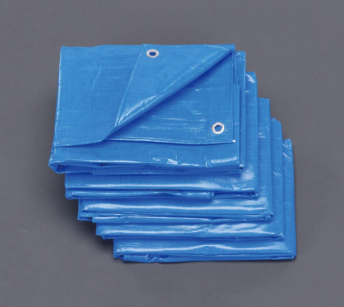 【メーカー在庫あり】 エスコ ESCO 2.7x3.6m ブルーシート #3000/5枚 000012081695 HD店