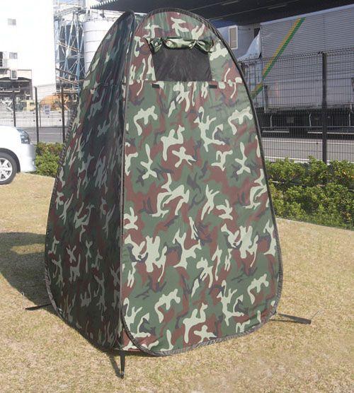 【メーカー在庫あり】 エスコ ESCO 1100x1100x1900mm 更衣テント 迷彩色 000012201452 HD店
